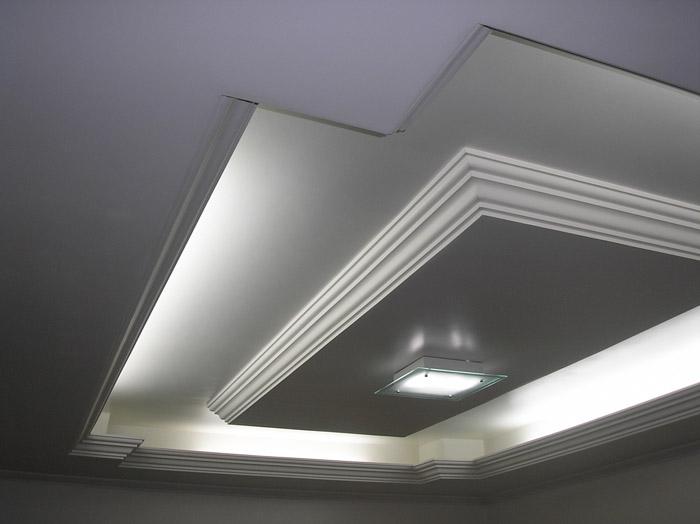 Eurogesso servi os de decora o e acabamento em gesso for Modelos de cielo raso para salas